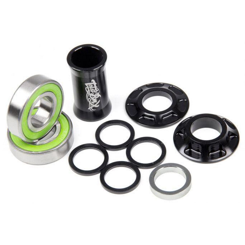 Total BMX Team Mid Innenlager / Bottom Bracket Black