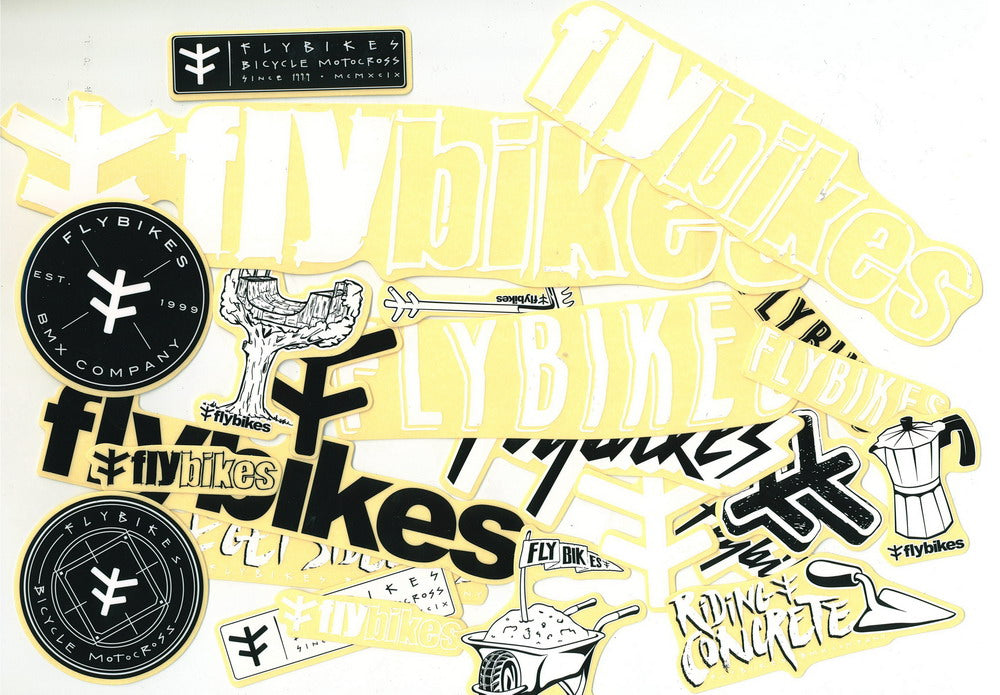 Flybikes Stickerpack