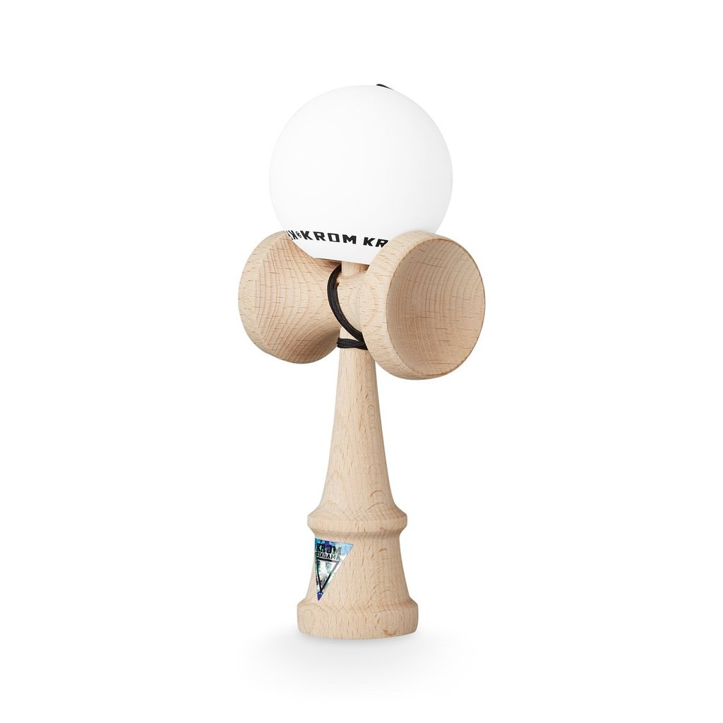 Krom Kendama Pop Limited White
