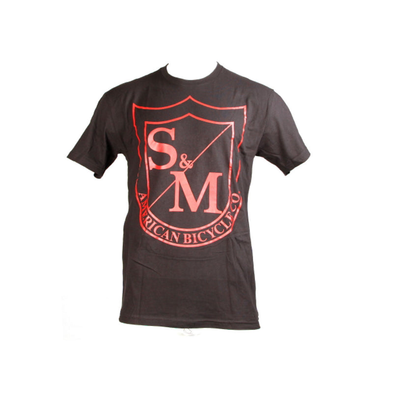 S&M Bikes Big Shield Red T-Shirt