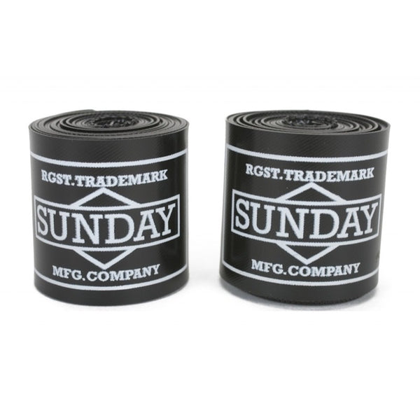 Sunday 30mm Felgenbänder / Rim Tapes Black