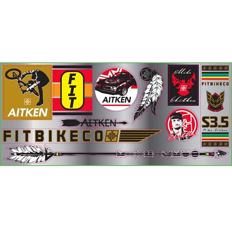 Fit Mike Aitken Stickerpack