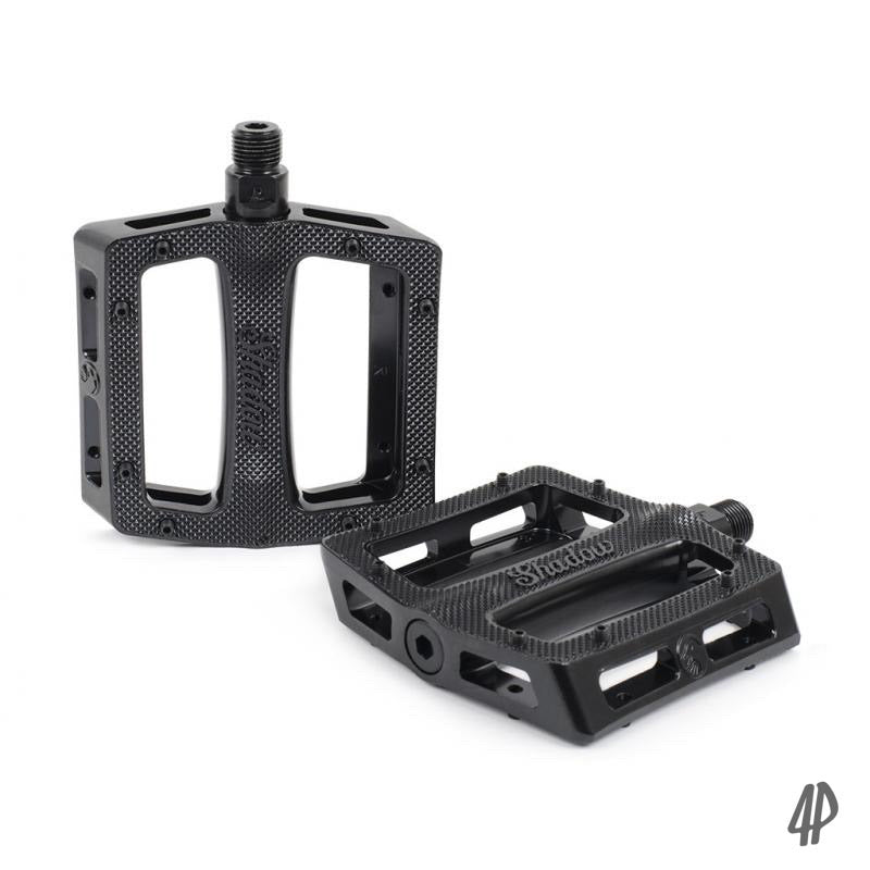 Shadow Trey Metal Alloy Pedals UNsealed Black