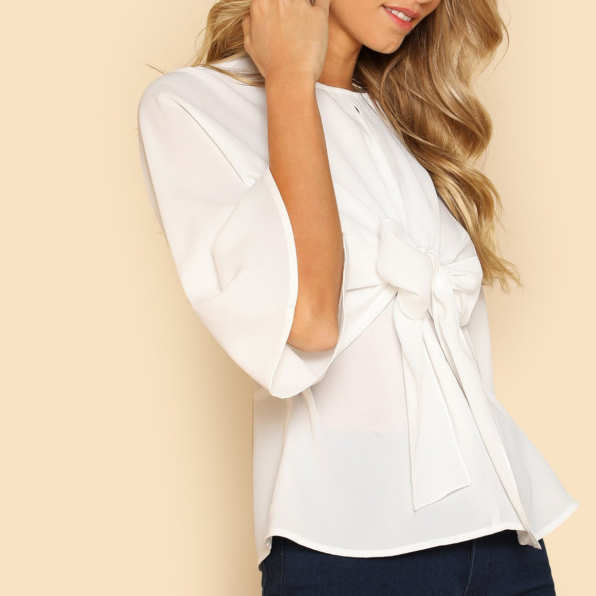 CLOCHE White Heavens Inspiration Blouse