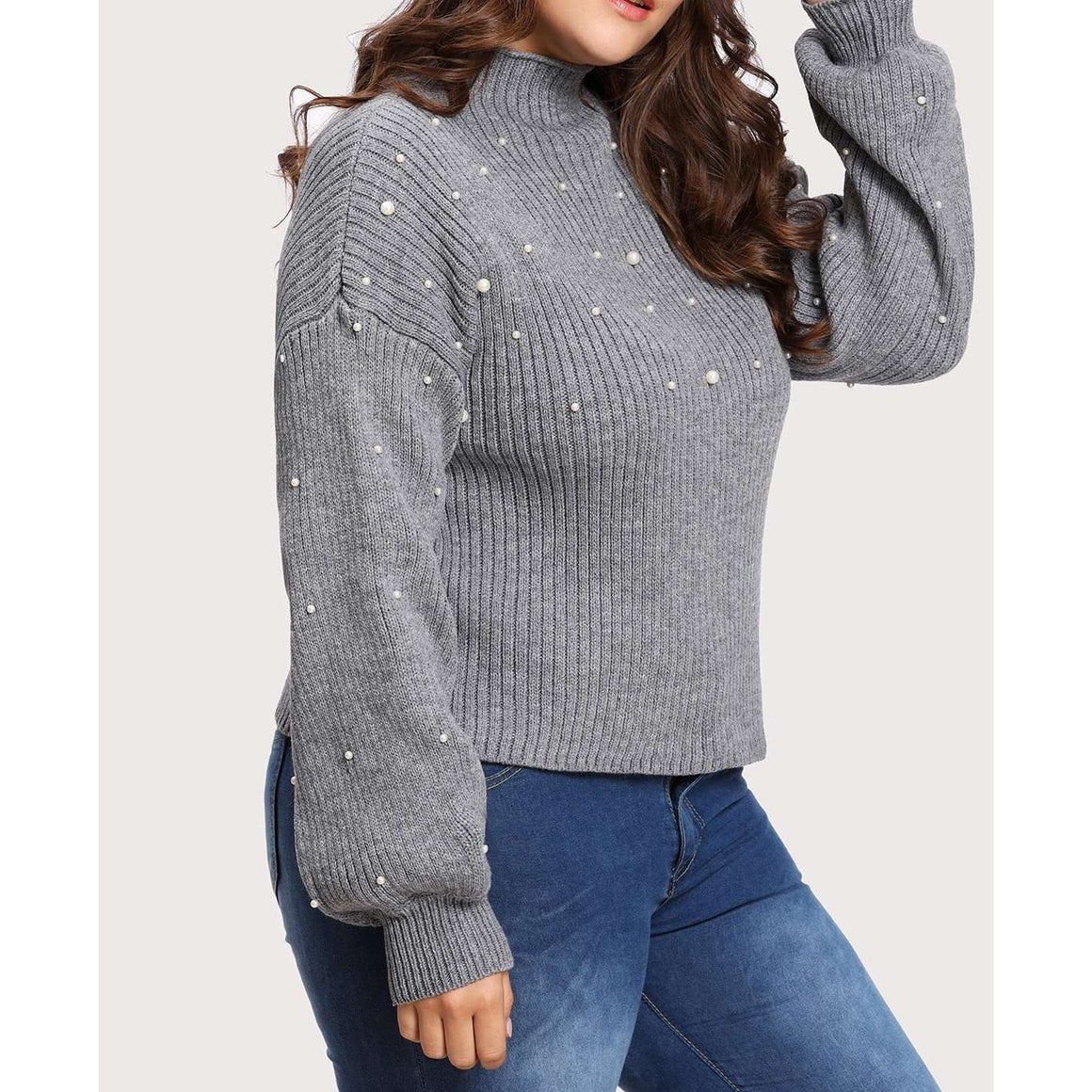 CLOCHE Pearl Jumper-CLOCHE-CLOCHE
