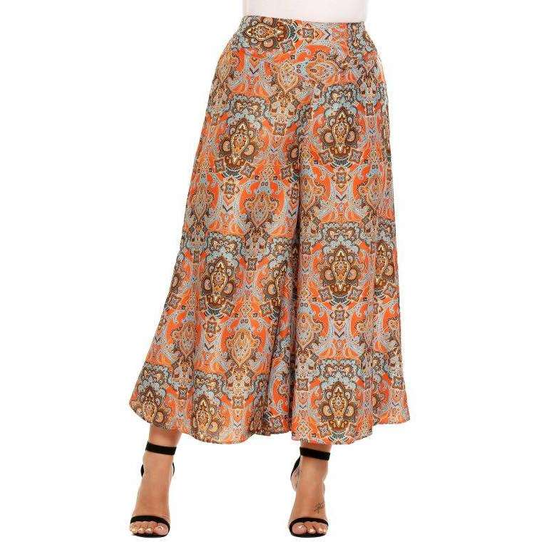 CLOCHE Culottes Wide Leg Pants-CLOCHE-CLOCHE