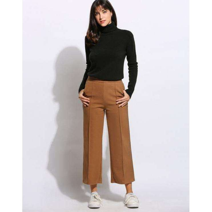 CLOCHE Formal Culottes Wide Legs Pants-CLOCHE-CLOCHE