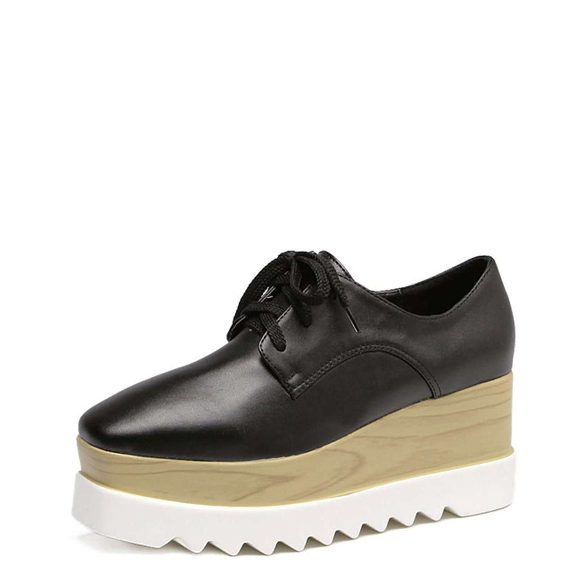 CLOCHE First Crush Wedge Oxfords-CLOCHE-CLOCHE
