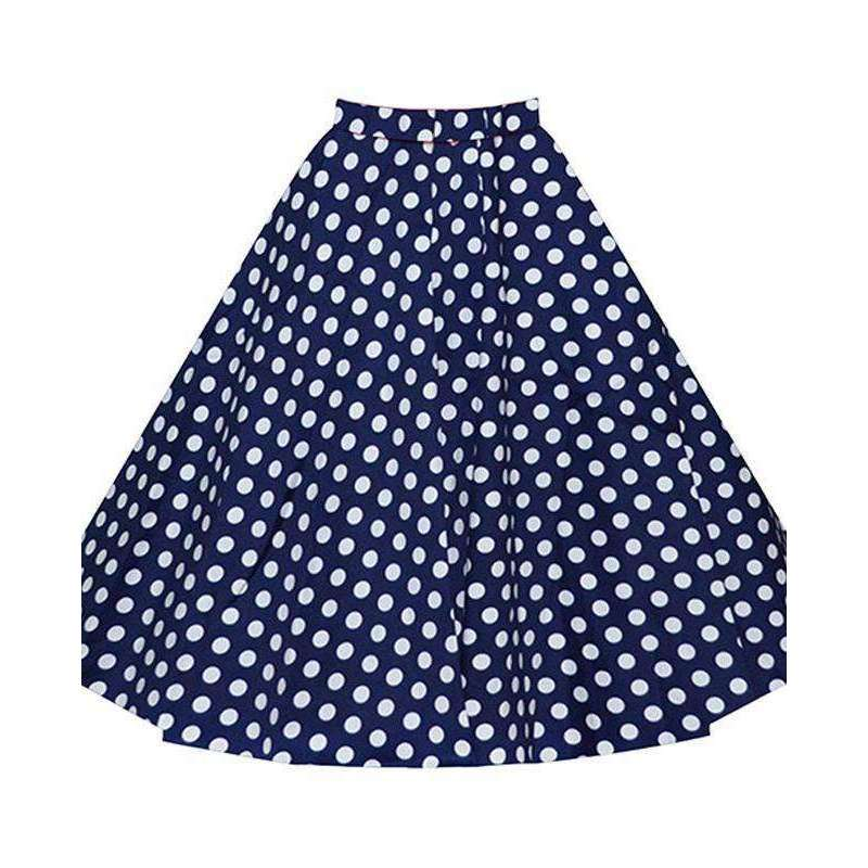 CLOCHE Polka Skirt-CLOCHE-CLOCHE