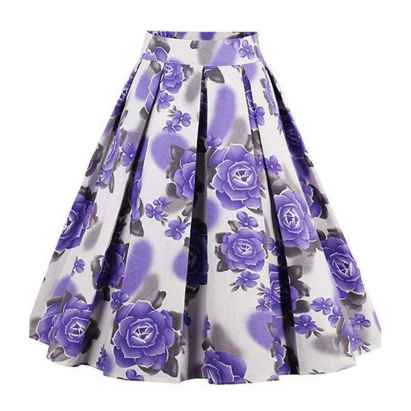 CLOCHE Pleat Ruling Premium Skirt-CLOCHE-CLOCHE