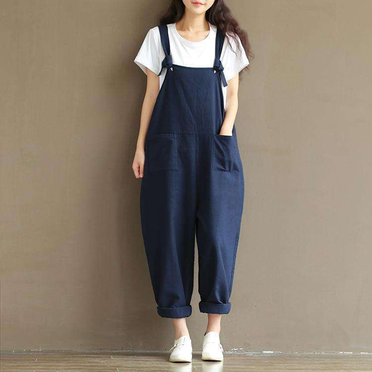CLOCHE Pumpkin Pockets Jumpsuit-CLOCHE-CLOCHE