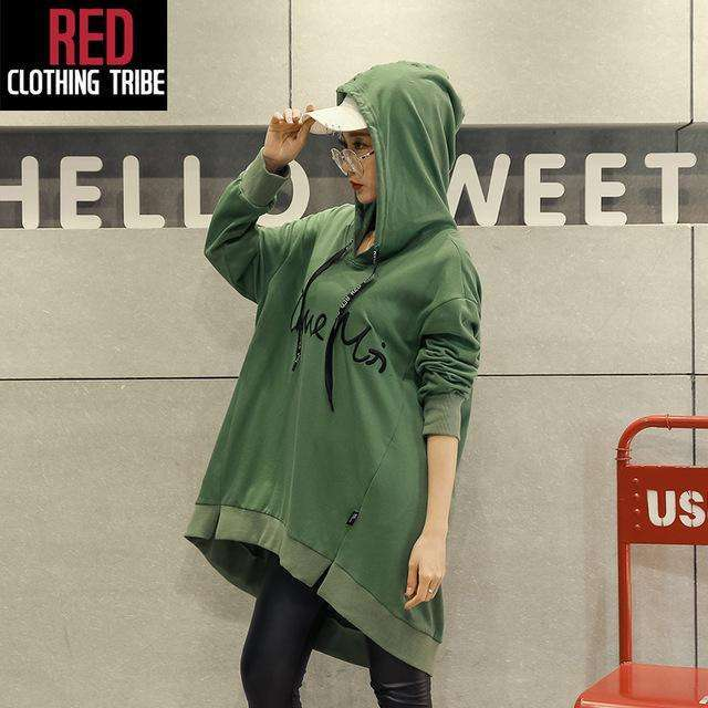 CLOCHE Cotton Soft Comfortable Letter Hoodie Sweatshirt-CLOCHE-CLOCHE