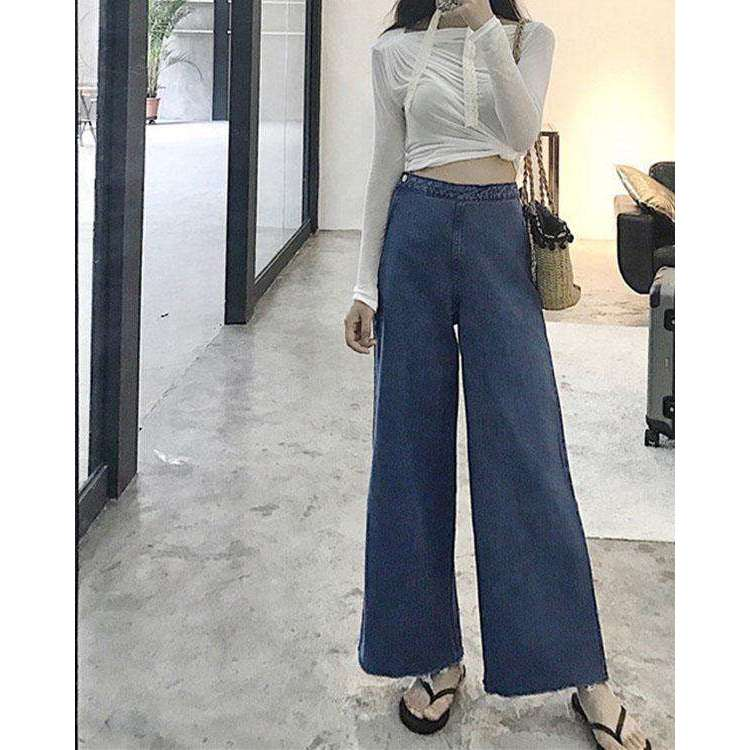 CLOCHE Vintage Denim Jeans Pants-CLOCHE-CLOCHE