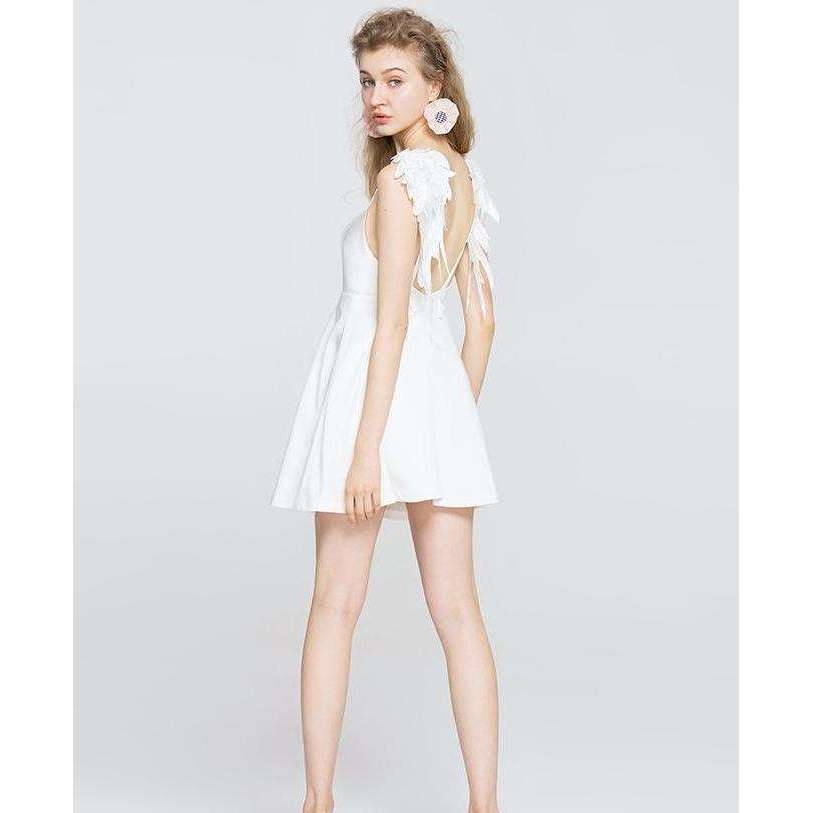 CLOCHE Archangel Mini Fly High Designer Dress-CLOCHE-CLOCHE
