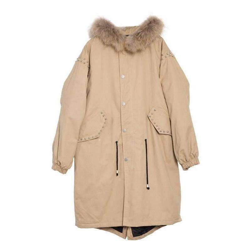 CLOCHE Hooded Trench Classic Overcoat-CLOCHE-CLOCHE