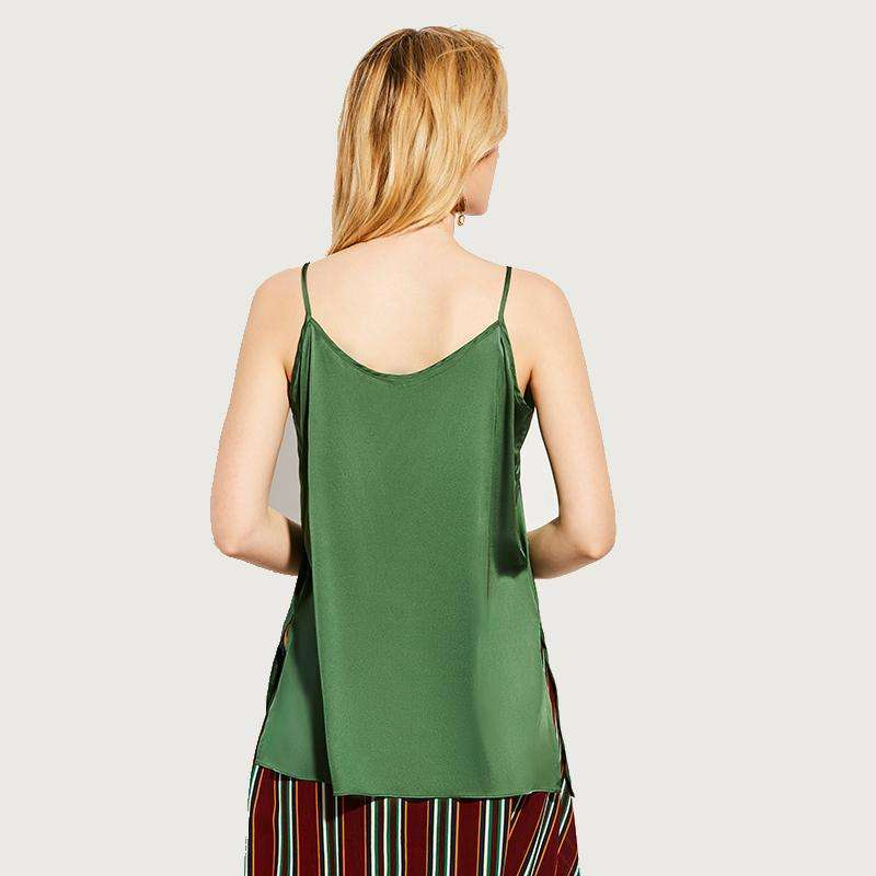 CLOCHE Sleeveless Backless Spaghetti Straps Tank Top-CLOCHE-ONE-CLOCHE