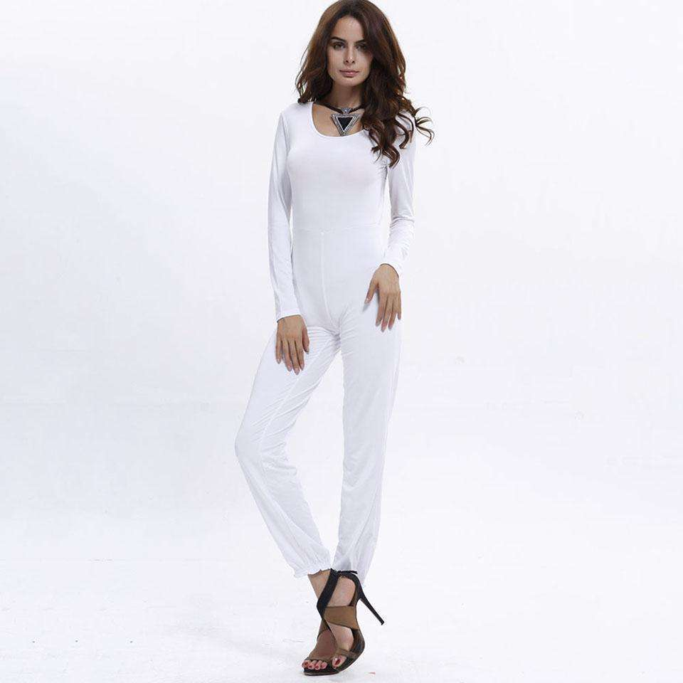 CLOCHE Low-Waist Hollow Backless Pencil Pants Jumpsuit-CLOCHE-CLOCHE