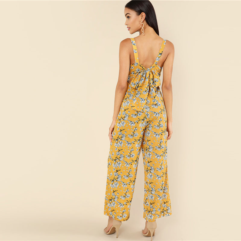 CLOCHE Dignity Boho Multicolor Multimood Jumpsuit