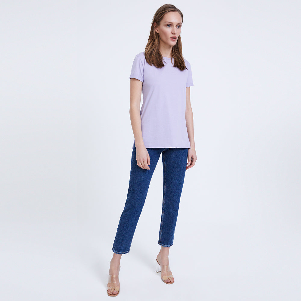 HABB Basic Lila T-Shirt