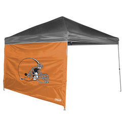 Cleveland Browns Coleman 10 X 10 Straight Leg Canopy Wall