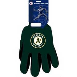 Oakland Athletics MLB Two Tone Gloves