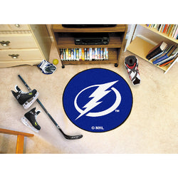 Tampa Bay Lightning NHL Puck Mat (29 diameter)""
