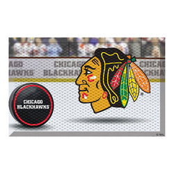 "Chicago Blackhawks NHL Scraper Doormat"" (19""x30"")"""