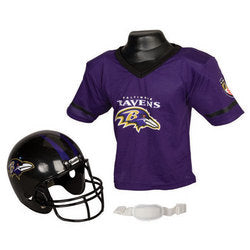 Baltimore Ravens Youth NFL Helmet and Jersey Set