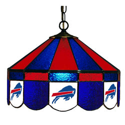 Buffalo Bills NFL 16 Inch Billiards Stained Glass Lamp