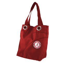 Alabama Crimson Tide NCAA Color Sheen Tote (Dark Red)