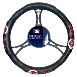 Cincinnati Reds MLB Steering Wheel Cover (14.5 to 15.5)
