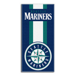 Seattle Mariners MLB Zone Read Cotton Beach Towel (30in x 60in)