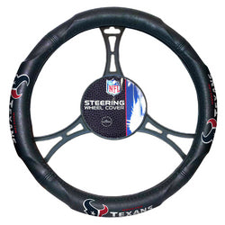 "Houston Texans NFL Steering Wheel Cover (14.5 to 15.5"")"""