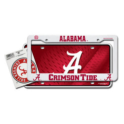 Alabama Crimson Tide NCAA 3 Piece Auto Value Pack