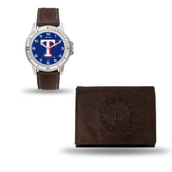 Texas Rangers MLB Watch and Wallet Set (Niles Watch)