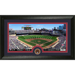 Minnesota Twins Infield Dirt Coin Panoramic Photo Mint