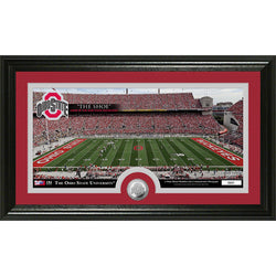 Ohio State University inStadiumin Minted Coin Panoramic Photo Mint