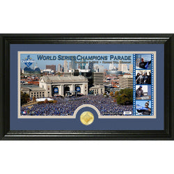 Kansas City Royals 2015 World Series Victory Parade Pano Photo Mint