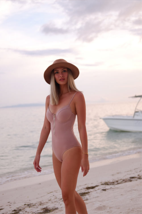 Zara One Piece - Tan