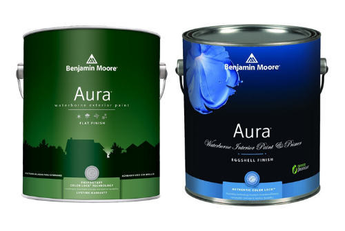 Benjamin Moore Aura Interior and Exterior PAint