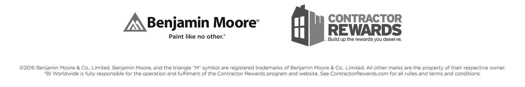 Benjamin Moore Contractor Rewards: Build up the rewards you deserve at your local Colorize store!