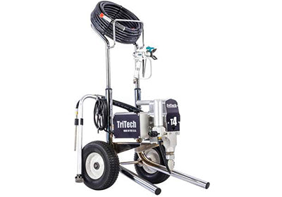 Tritech T4 airless sprayer, available for rent at Colorize Clifton Park.