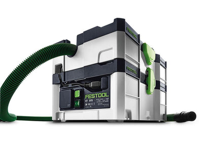 Festool CT SYS 1000W 106CFM Dust Extractor front view available at Colorize, INC.