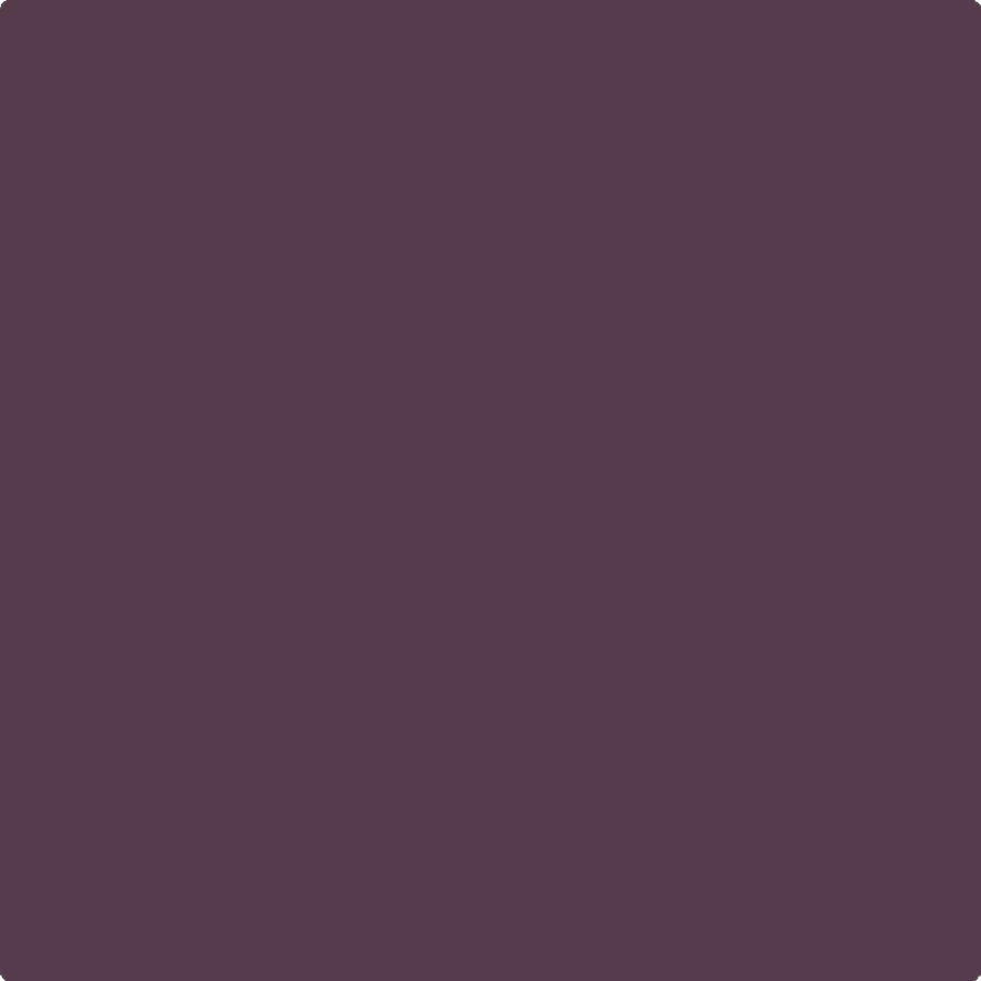 Benjamin Moore Century Matte Interior Paint in R7 Tyrian Purple