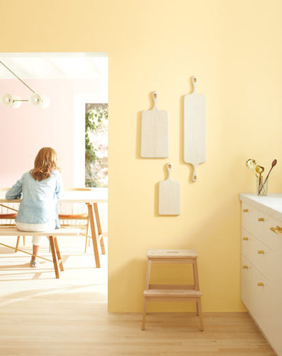 Benjamin Moore Golden Straw Color trends 2020