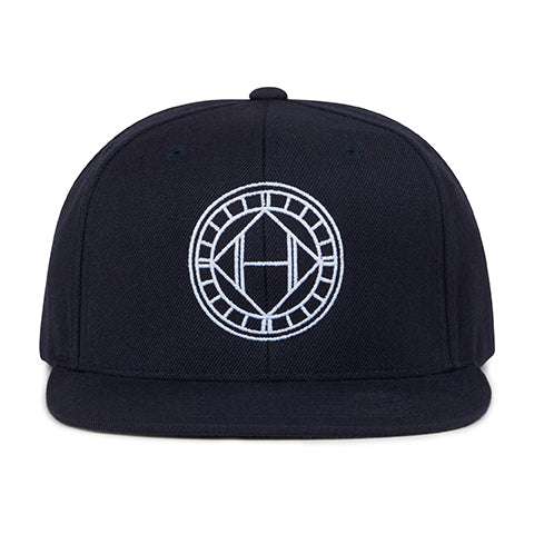 Load image into Gallery viewer, Black Mosaic Embroidered Snapback Cap - H E R M A N O