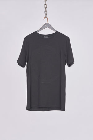 Load image into Gallery viewer, Black Embossed Logo T-Shirt - H E R M A N O