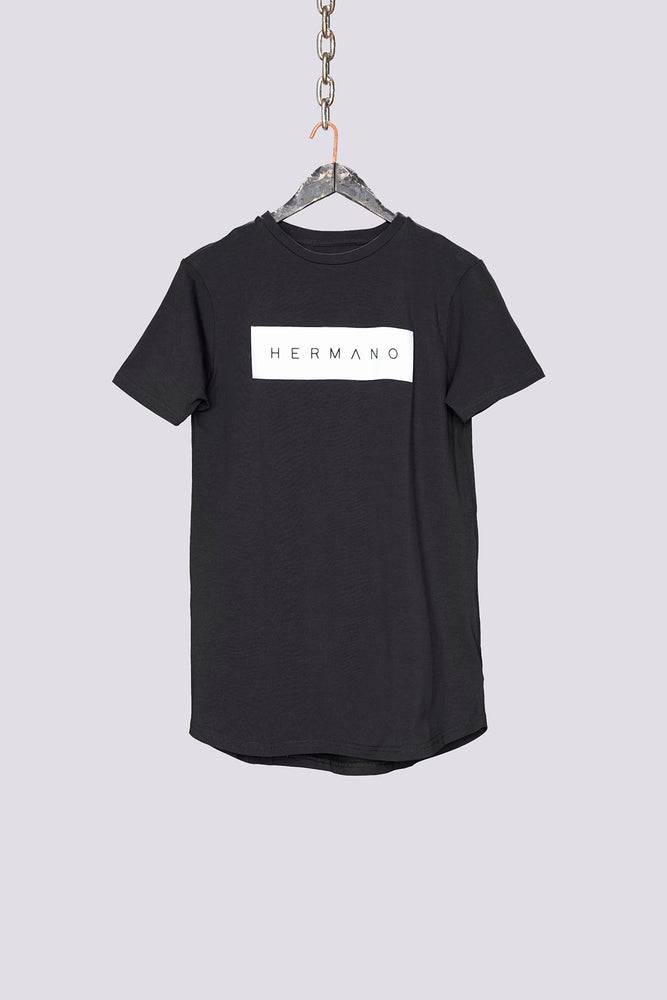 Black Box Print T-Shirt - H E R M A N O