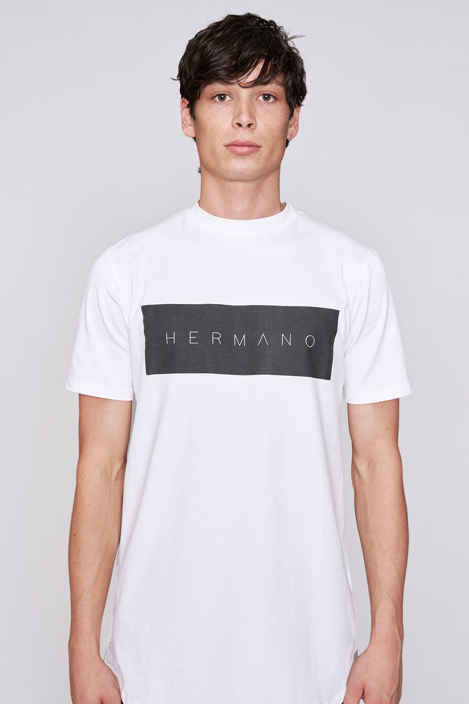 White Hermano slim fit t-shirt - H E R M A N O