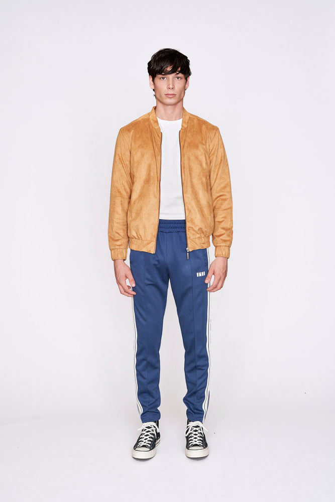 Load image into Gallery viewer, Tan suedette jacket - H E R M A N O